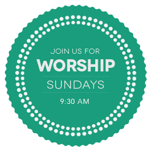 Come Worship With us, Sundays at 9:30 AM